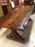 Beautiful Chestnut Farm Table